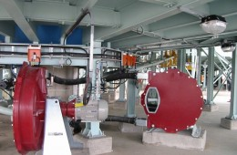 Bredel Hose Pumps Mounted Under Clarifier